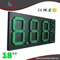 18 ''8889/10 водонепроницаемый 7 сегментный Цифровой светодиодный цена на газ знак/led азс дисплей/led fuel gasoline доска панели горячие продукты