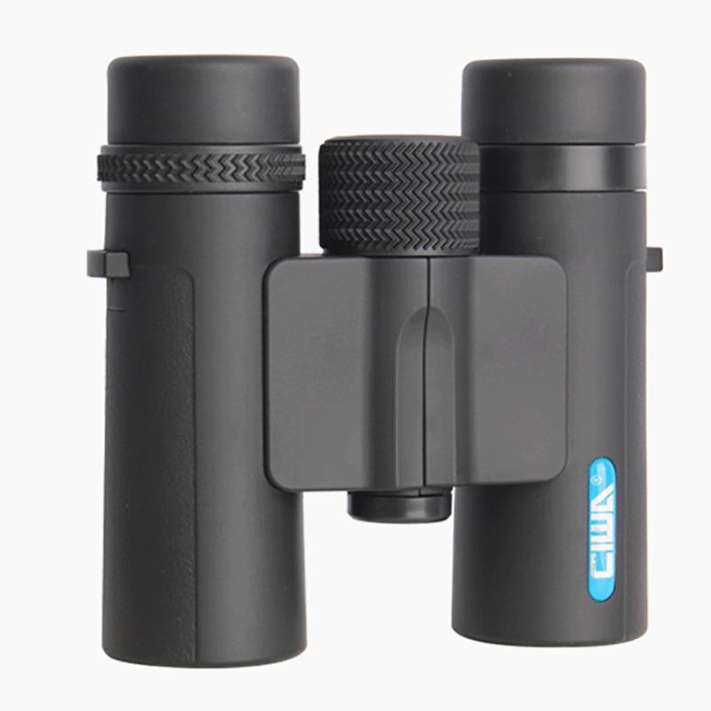 CIWA vida impermeable caza binoculares de alta calidad rey visión diámetro de la pupila de salida prismáticos 10X26 al aire libre ocular telescopio