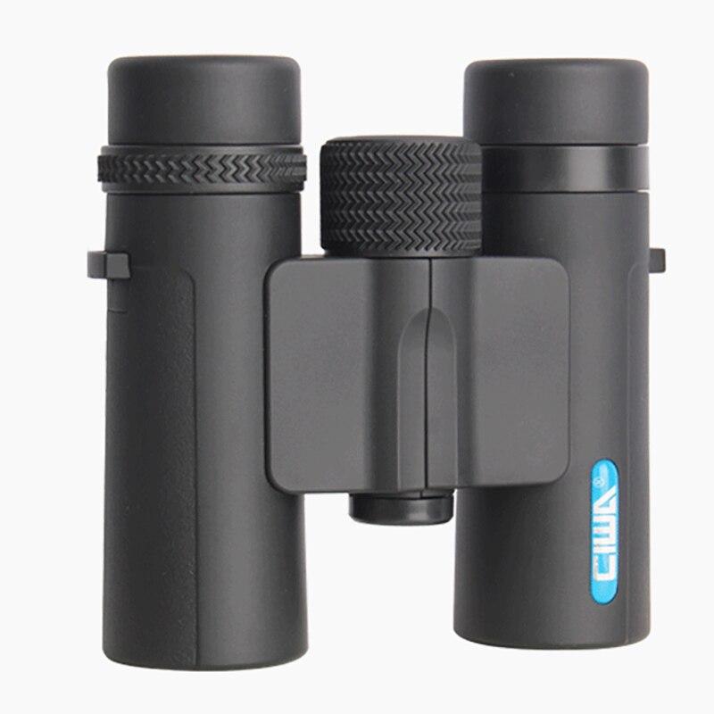 CIWA vida impermeable caza binoculares no-rey visión nocturna diámetro de la pupila de salida prismáticos 10X26 al aire libre ocular telescopio