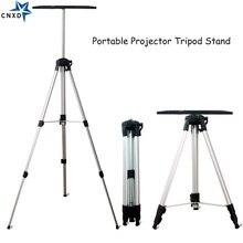 Soporte de montaje de trípode para proyector portátil soporte de suelo para portátil con bandeja, reproductor de DVD, ajuste de altura, 50 140cm