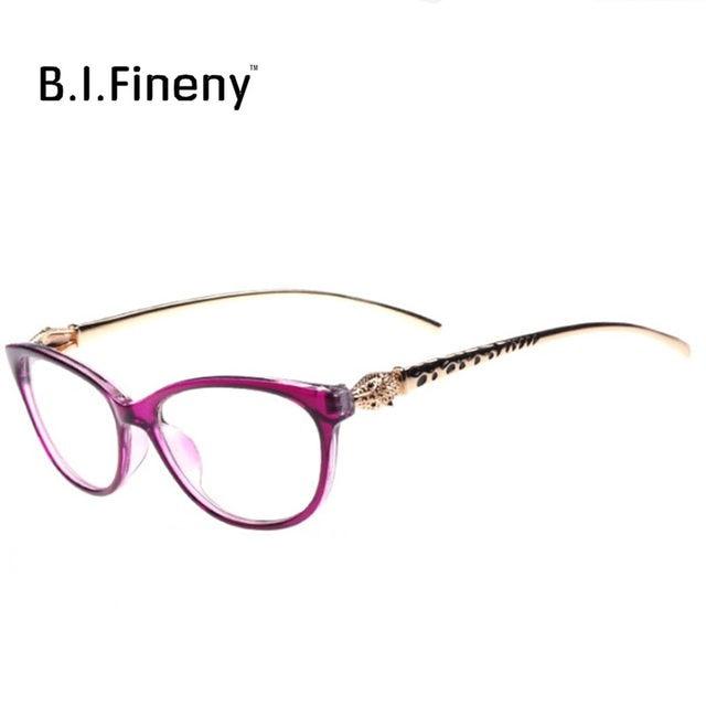 76210b0f803d0 Moda Chita Earstems óculos quadros Mulheres Senhoras Leopardo Decorativos  Óculos De Leitura quadros Nenhum Grau