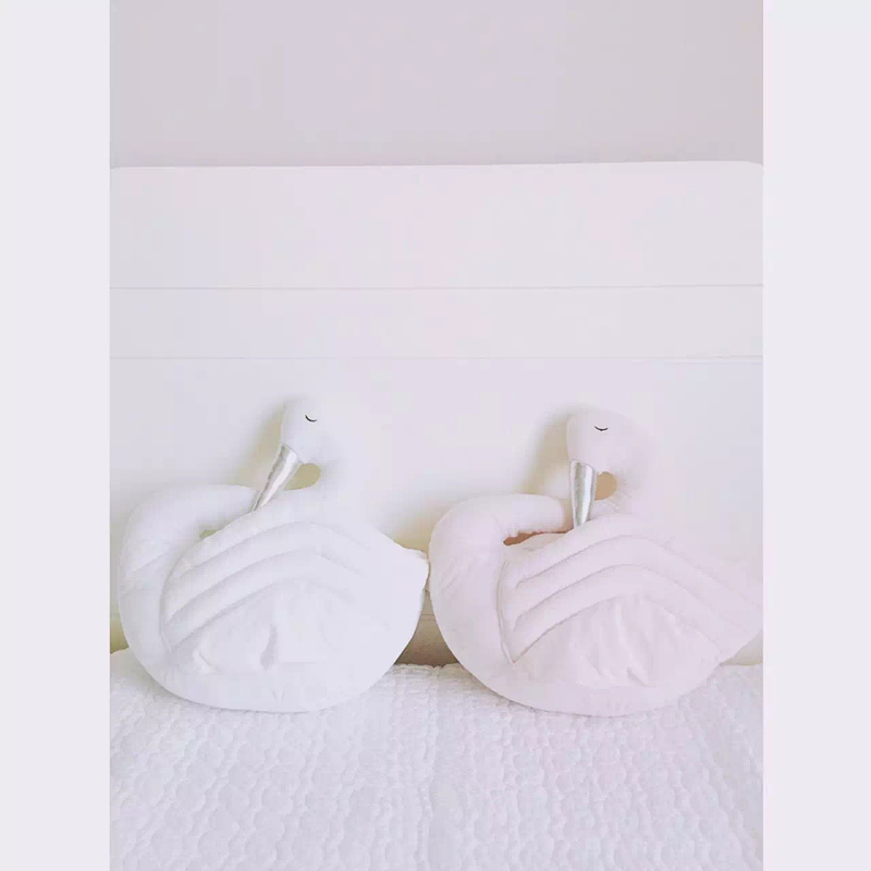 2016 New Fahion Baby Stuffed Swan Style Toys Cushion