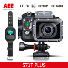 100% Original AEE Magicam S71T+ 4K 1080P HD Action Camera Watch Wifi Control yi Sport Camcorder 1500mAh Action Cam Accessories