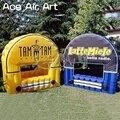 Kundenspezifische Neue angekommene aufblasbare coccession booth/stall  anbieter raum  inflatabl BAR stand für Kommerzielle werbung-in Pavillons aus Heim und Garten bei