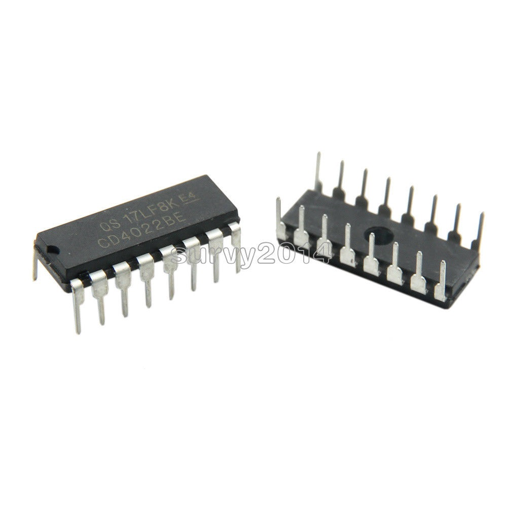 5PCS CD4022BE DIP-16 CD4022 DIP16 CMOS Counter Dividers 5PCS CD4022BE DIP-16 CD4022 DIP16 CMOS Counter Dividers