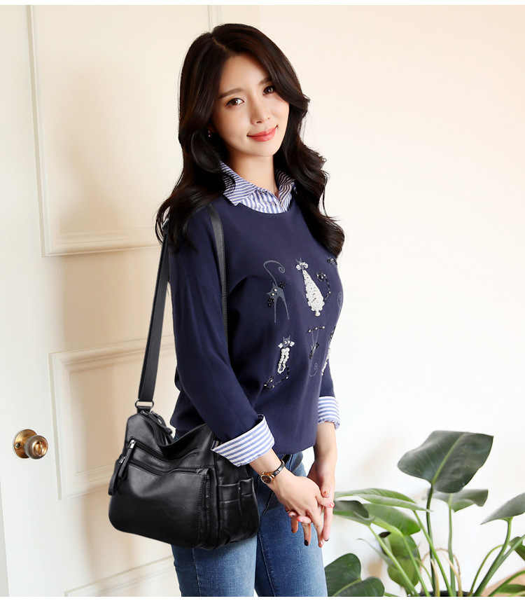 Sac a principal femme bolsas de couro de luxo bolsas femininas designer sacos de mão feminina ombro crossbody saco do mensageiro ocasional 2019 c858