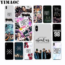 YIMAOC Why Dont We Bands Soft TPU Silicone Case for Apple Iphone Xr Xs Max X 10 8 Plus 7 6S 6 Plus SE 5S 5 7Plus 8Plus Cover цена