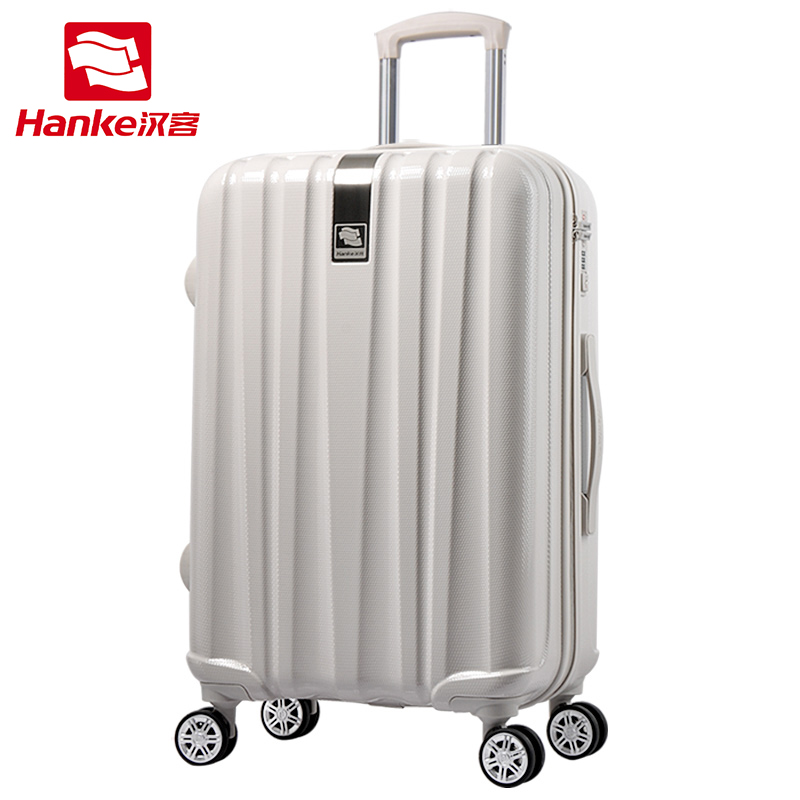 цена на Hanke 16''-24'' Hardside Rolling Luggage Bag Women Spinner Trolley Suitcase Men Carry-Ons Female TSA Travel Boarding Case Bag on