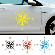 50cm*50cm Car Compass Totem Sticker Art Design Vinyl Stickers and Decals Hood Cover Body Applique