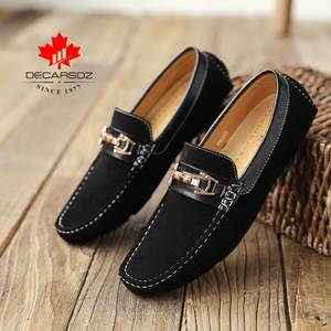 Men's Shoes 2020 New Fashion Loafers Shoes Men Autumn Driving Boat Footwear Comfy Slip-On Suede Moccasins Men'S Casual Shoes