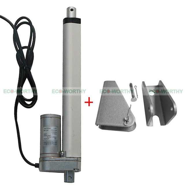 2 Set 200mm 12V Linear Actuator and Wireless Remote Control for
