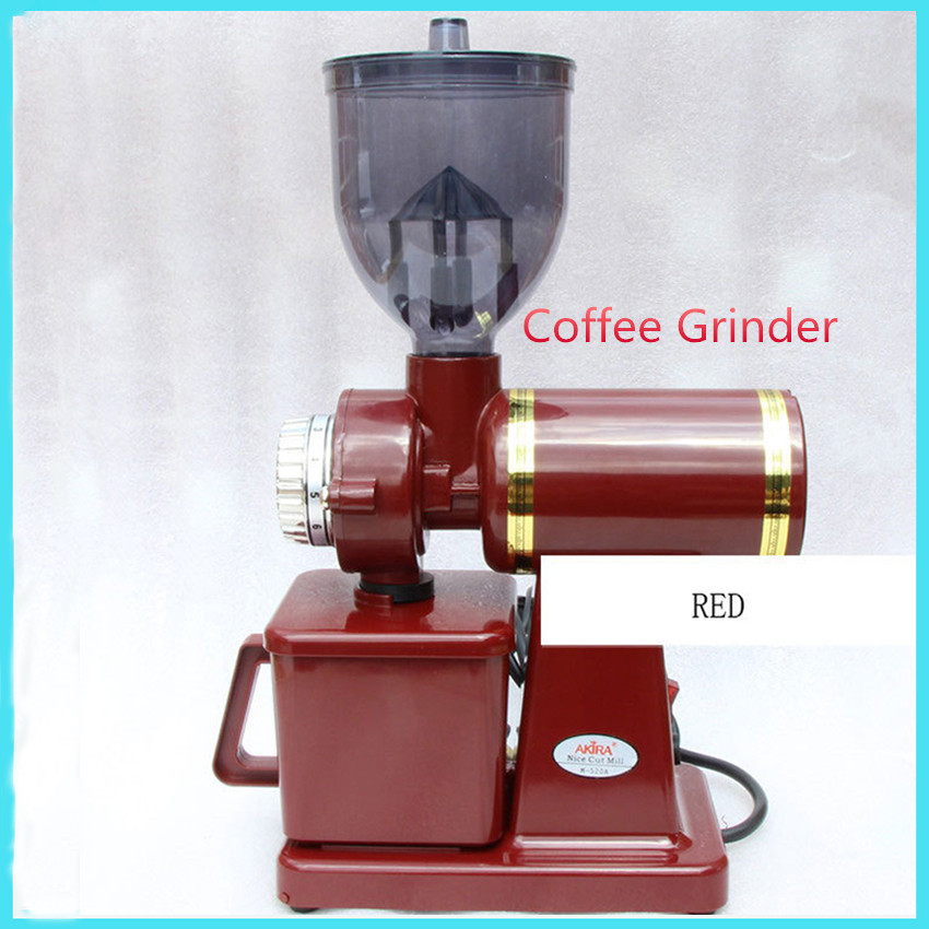 Electric Coffee Bean Grinder machien coffee Mill Machine Electric Coffee grinder Black/Silver/Red M-520A electric coffee grinder electrical coffee beans bean grinder 220v coffee mill electric coffee maker machine high quality