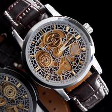 wind up watch for men online shopping the world largest wind up mce fashion automatic wind up mechanical watch see through waterproof hollow out watch mechanical men skeleton