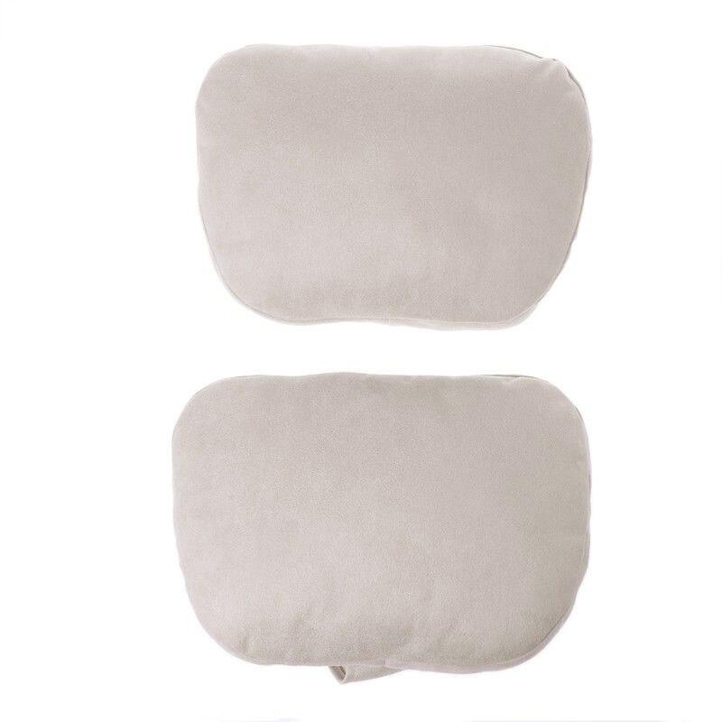 2x For Mercedes Benz Car Headrest S Class Maybach Design Soft Pillow 29*19cm New