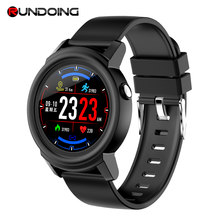 RUNDOING NY01 Smart watch Full round screen color message reminder fashion Smartwatch Fitness Tracker Heart rate monitor(China)