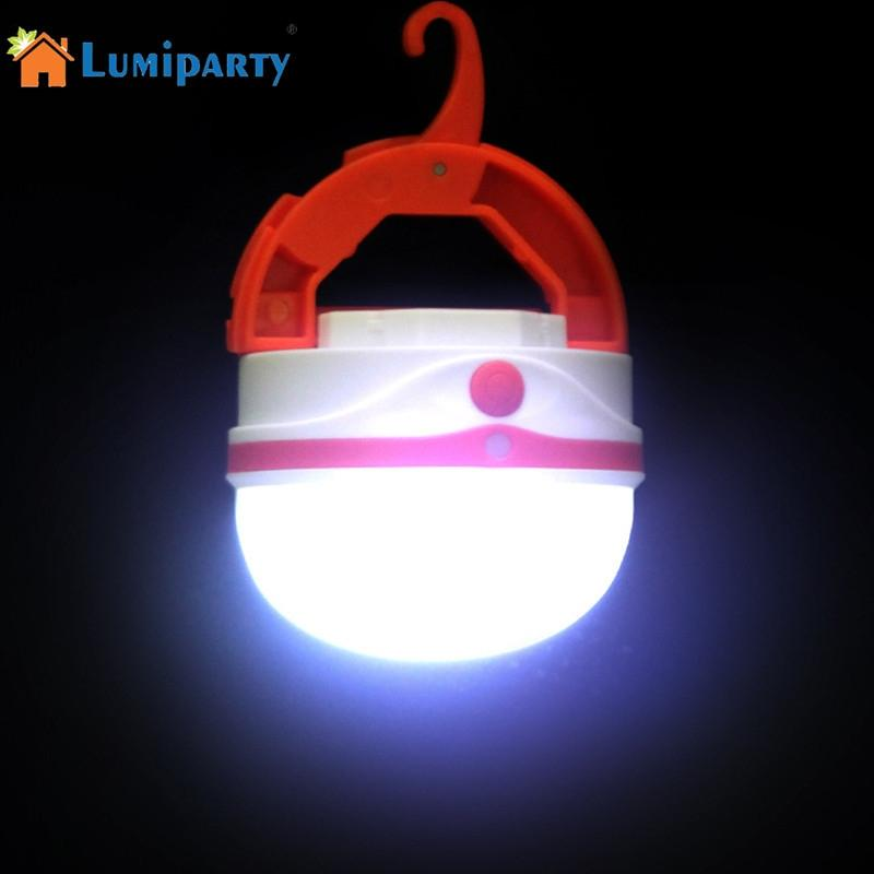 LumiParty Mini Highlighted Camping Light Outdoor Waterproof Multi-functional USB Charging Portable Hanging Lamp