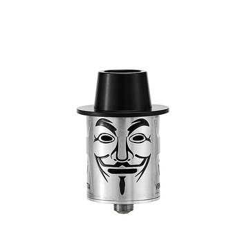 Fumytech – Cigarette électronique Vendetta RDA, réservoir de gouttes reconstructible, flux d'air latéral RTA, énorme vapeur de nuage VS cyclone VT RDA