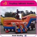 Popular niños saltando castillo inflable rebote casa de diapositivas para zona de juegos