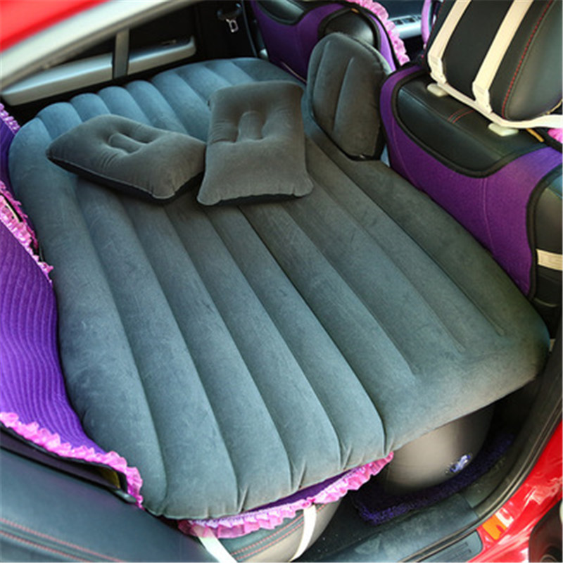 Car Travel Inflatable Mattress Air Bed Cushion Outdoor