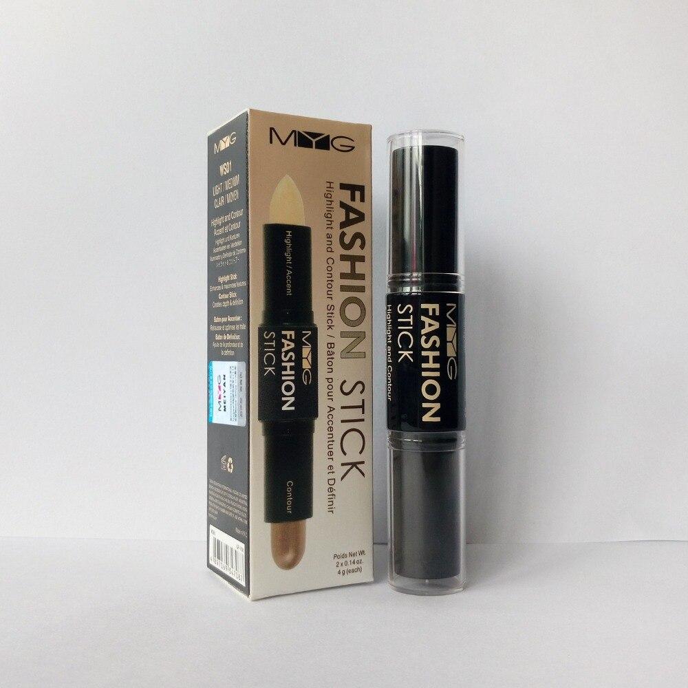 Contour Stick 4g Bronzer and Highlighter Makeup font b face b font matte cream contouring make