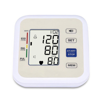 Voice version Arm Blood Pressure Monitor Maintains health equipment blood pressure Largescreen LCD voice automatic measurement