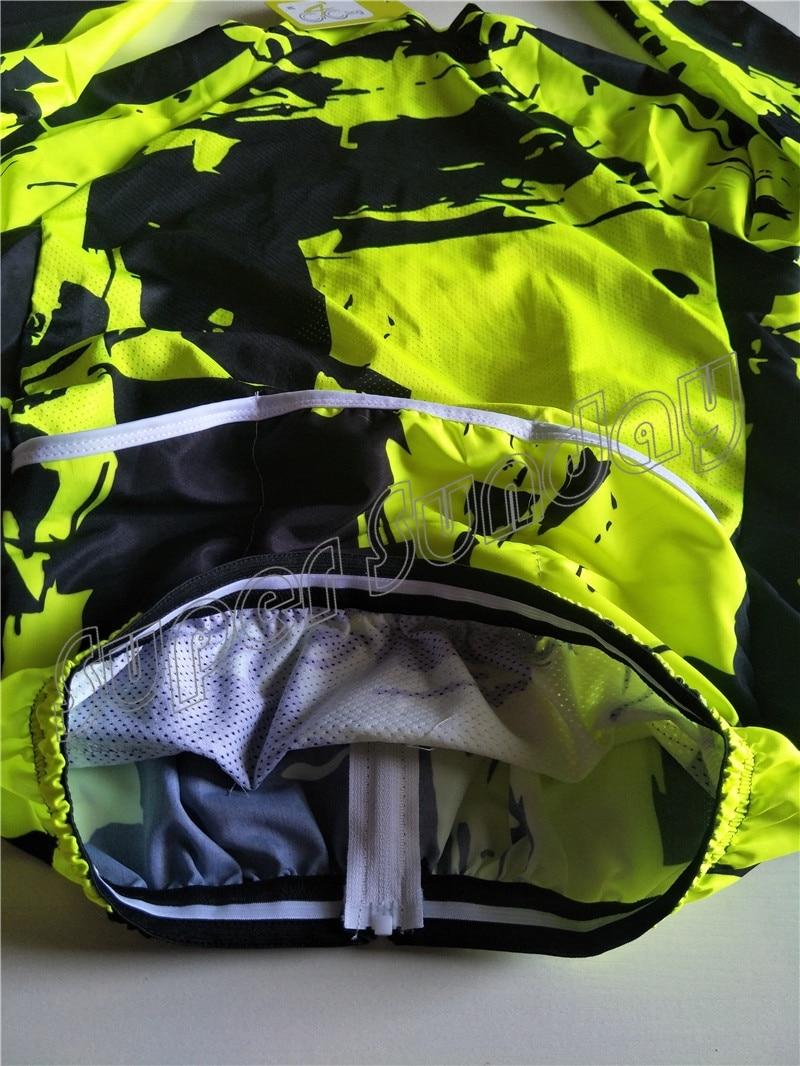 Coupe-vent maillots vent manteau Fluorescent cyclisme maillots coupe-vent veste Sunshield vélo Sportswear livraison gratuite FWL1 - 5