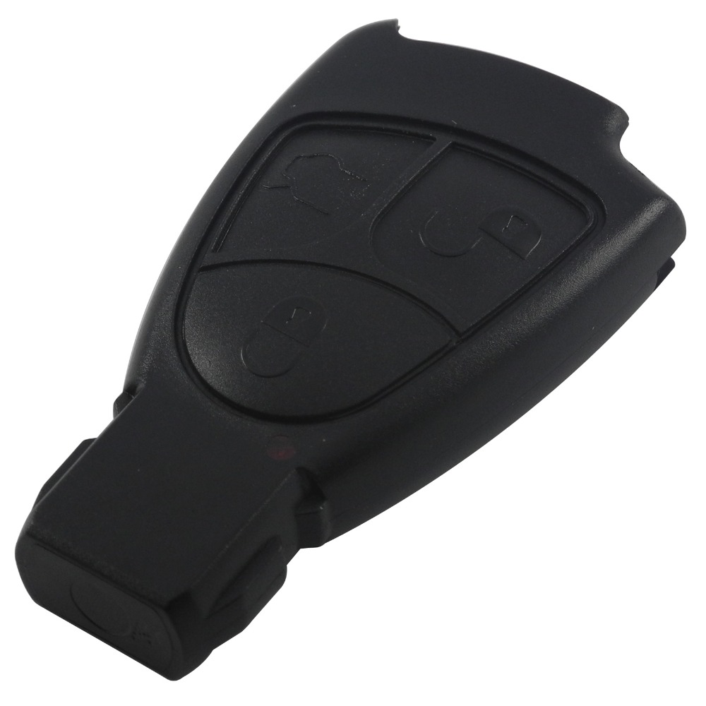 With Logo Replacements 3 Buttons Remote Car Key Shell Case Cover Styling Fob For Mercedes Benz B C E ML S CLK CL3B 3BT