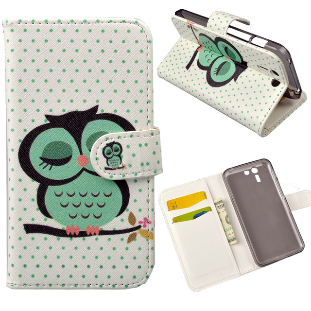 For PadFone S Flip PU Leather case For Asus PadFone X / PadFone S PF500KL Cover 5.0 inch Cases with Stand and Card Holder