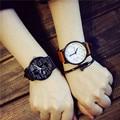 Juventude estilo Estudante Relógio de Forma Das Mulheres Relógio Pulseira de Couro Função Equação Padrão Relógio de Quartzo-relógio Relógios do Amante Popular