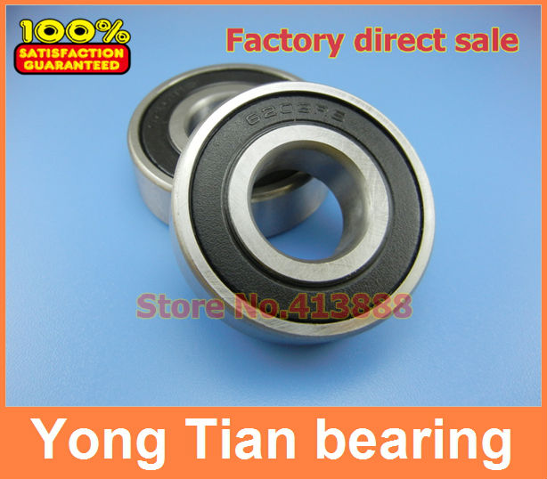 6210-2RS Black Rubber Sealed Deep Groove Ball Bearing 50mm x 90mm x 20mm 1pc 6217 2rs 6217rs rubber sealed ball bearing 85 x 150 x 28mm