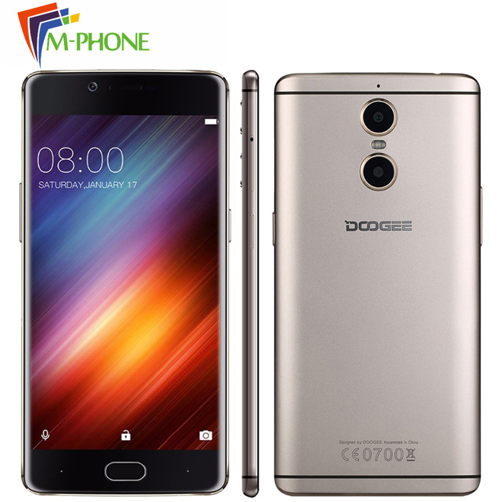 Original DOOGEE shoot 1 Mobile Phone 5 5 Inch 4G LTE 3300mAh Android 6 0 MTK6737