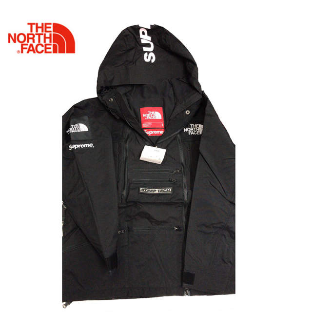 Supreme X Tnf Steep Tech Hooded 16ss The North Face Outdoor Men Canvas Windbreaker Jacket