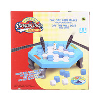 Fun Penguin Trap Activate Toy For Childre Interactive Ice Breaking Table Funny Family Entertainment Game Anti