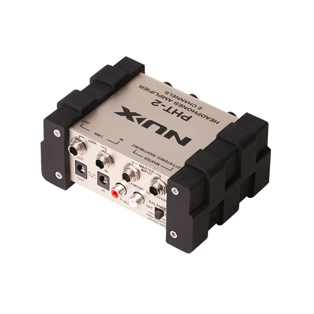 NUX PHT-2 Headphone amplifier earphone Amplifier monitoring headphone guitar Recording earphone AMP free shipping free shipping stock high quality original ie60 headphone moving coil unirt micdriver dynamic earphone no package