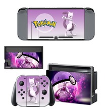 Pokemon GO Decal Nintendo Switch NS Console + Joy-Con Controller + Dock Station Protective