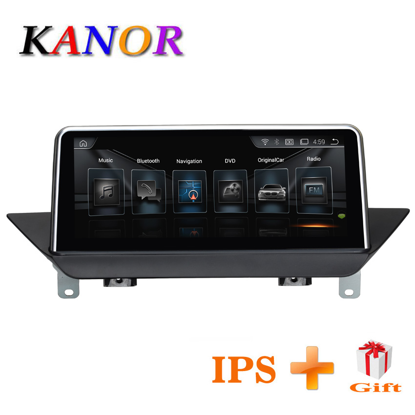 KANOR 10.25 Quad Core Android 7.1 2 + 32g IPS Voiture multimédia interface pour BMW X1 E84 2009 -2015 Navigation Avec D'origine CIC