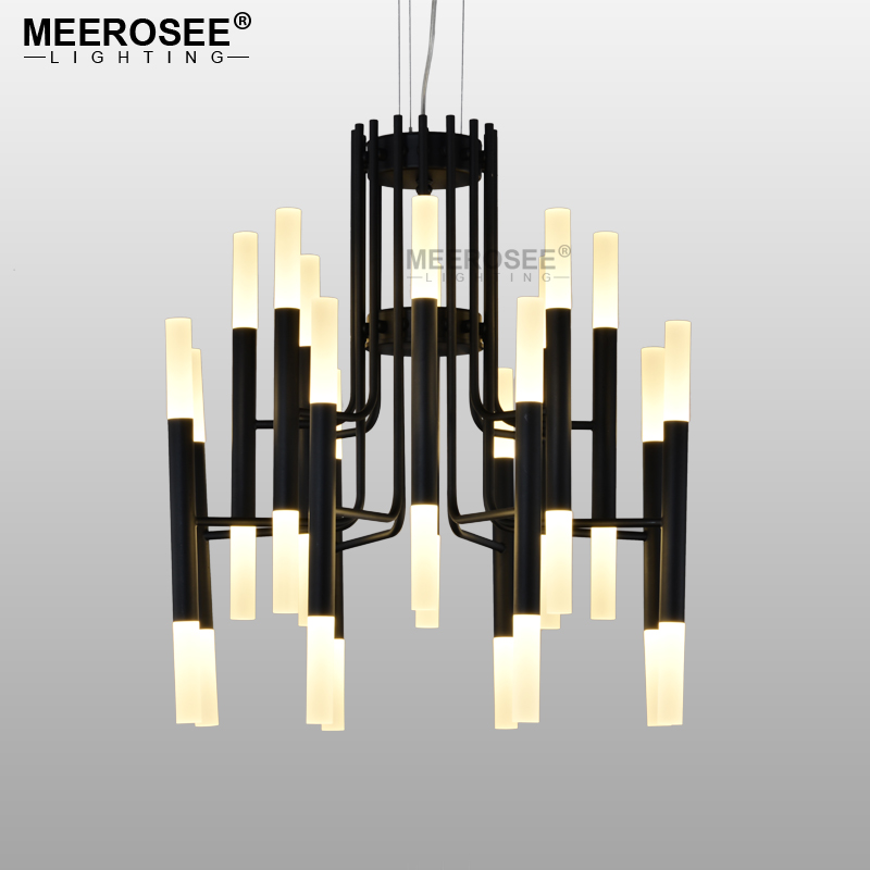 Modern LED Pendant Light Fixture Vintage Hanging Suspension Acrylic Pendant Lamp Drop Light Restaurant Home Lighting