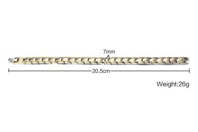 Купить мужской браслет из нержавеющей стали с голограммой