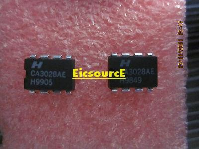 CA3028AE [CA3028] Differential/Cascode Amplifier IC
