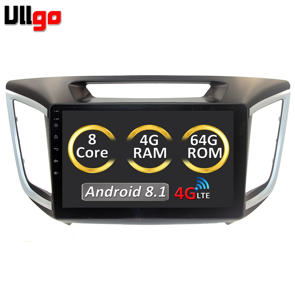 9'' Android Central Car Multimedia Player for Hyundai Creta iX25 Casstte Player Tape Recorder with 4GB RAM/64GB ROM/Octa core