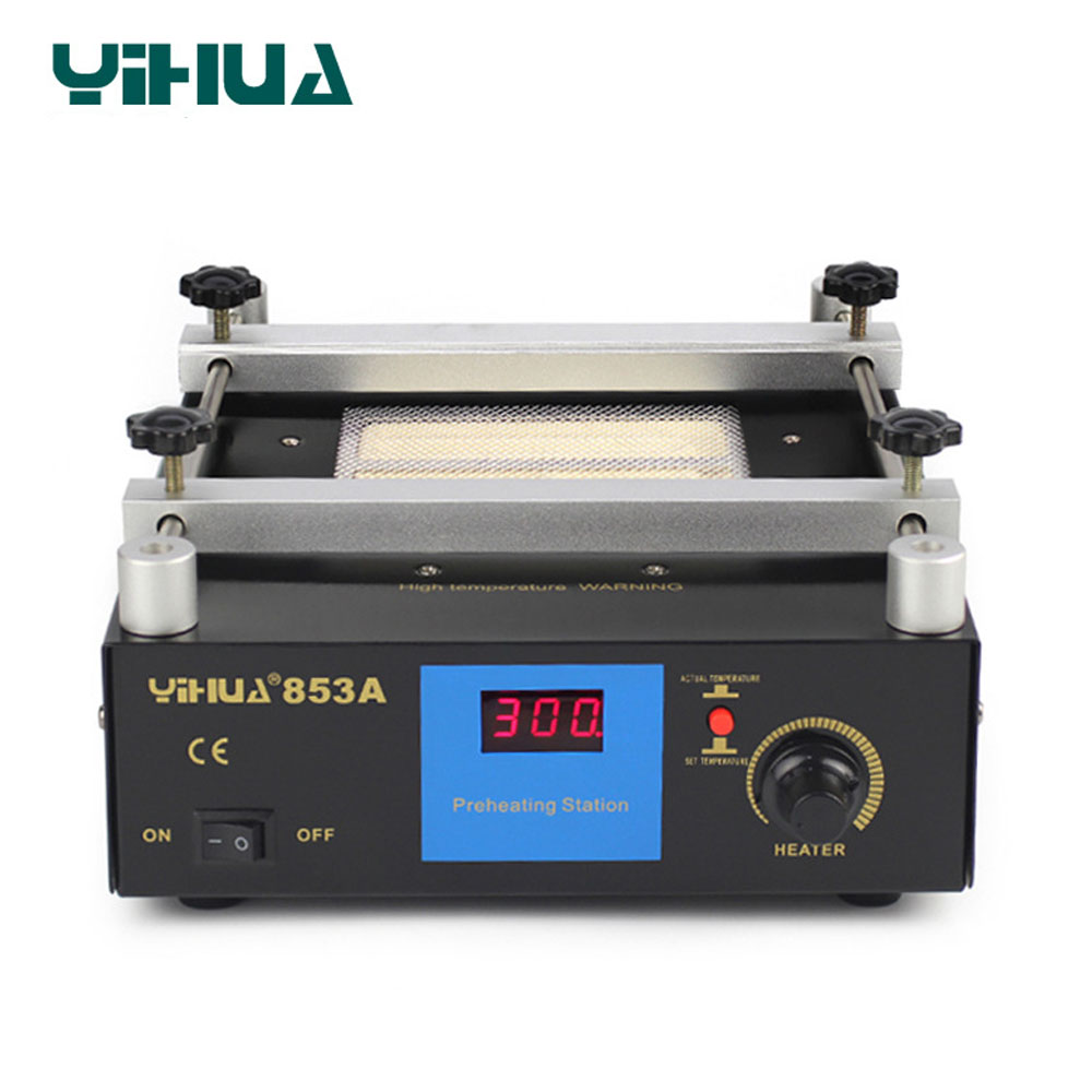 Digital Preheat Soldering Station High Power ESD BGA Rework Station PCB Desoldering IR Preheating 110V 220V