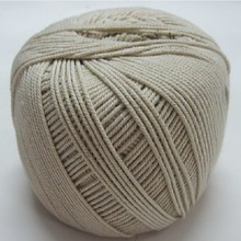 1.5mm /2mm /3mm/4mm diameter raw white cotton cord rope line group strand wrapping cotton rope tag rope lashing crab DIY