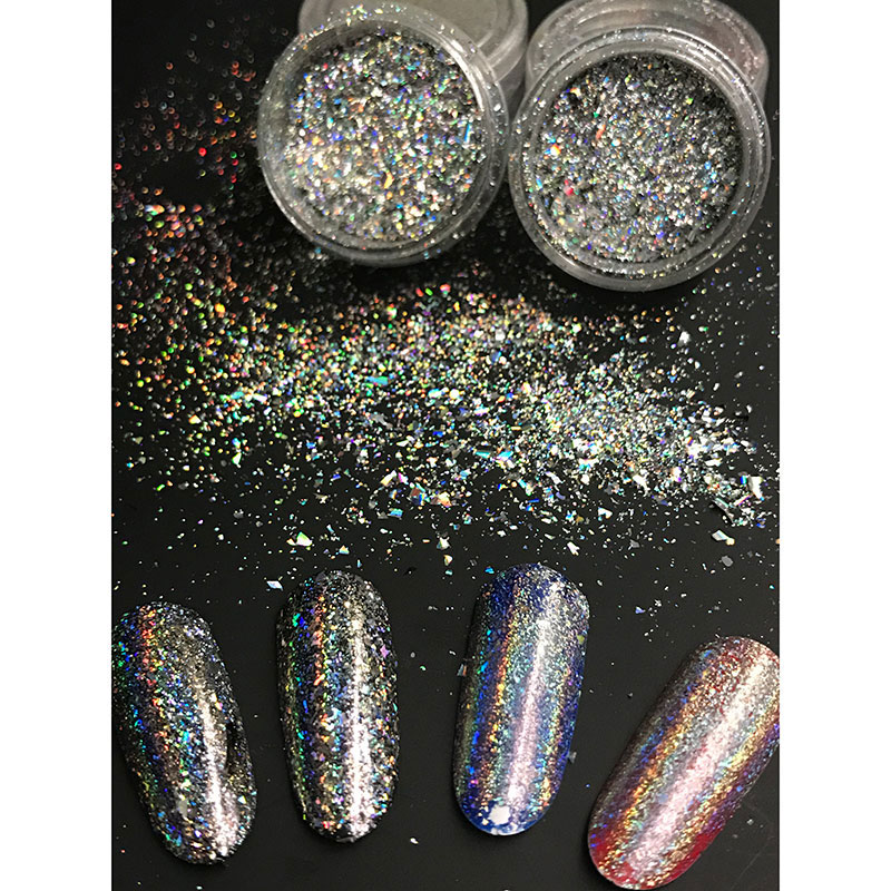 Glitters Galaxy Holo Flocos Que Bling a