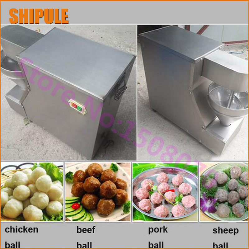 SHIPULE distributor opportunities 2017 china product small meatball making machine/commercial meatball forming machine price