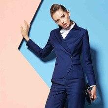 Элегантный Деловой брючный костюм, женский костюм, брюки и пиджак, офисный женский брючный костюм, костюмы, Униформа, брючный костюм, женские деловые костюмы