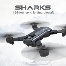 F196 Optical Flow Localization Foldable Quadcopter Wi-Fi RC Drone with 2.0MP HD Camera 1100mAh Battery Headless Mode Aircraft