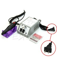 Professional Manicure Pedicure Electric Art Pen Machine Drill File Nail Set Kit-Y107