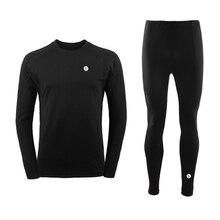 Men Thermal Underwear Men Long Johns Men Quick Dry POLARTEC Ski Jacket and Pants For Ski/Riding/Climbing/Cycling