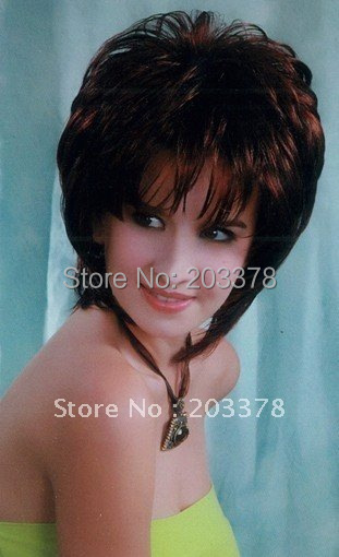 Wigs short Soft  Wig Hair wig Lady Wig  10pcs/lot mix styles