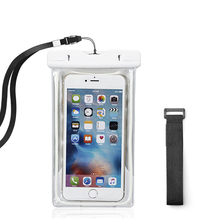 Universal Waterproof Mobile Phone Case For homtom ht17 ht16 s16 ht70 s8 ht50 Clear Sealed Underwater Cell Dry Pouch Cover